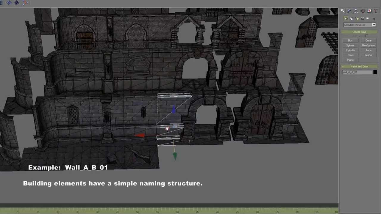 3drt dungeon master kit tutorial gmax youtube for Castle design software