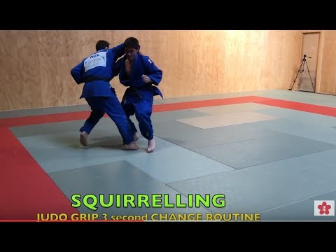 JUDO GRIPS Squirrelling (keeping busy) by Ivica Pavlinic
