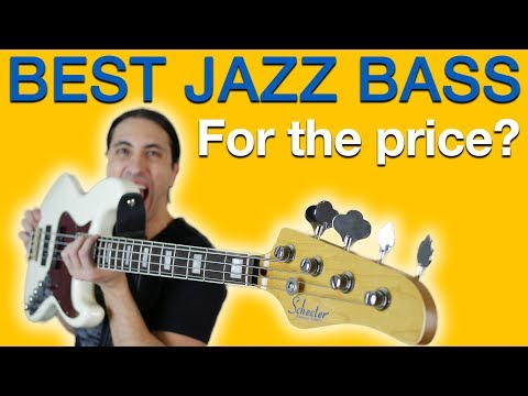 The Best Jazz Bass For The Price? - Schecter Diamond J Plus Review