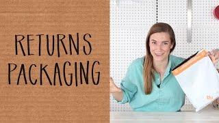 Packaging Strategies for E-Commerce Returns