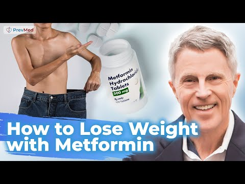 How to lose weight with metformin; PCOS; nondiabetics; improved AMPK, mitochondria, other function