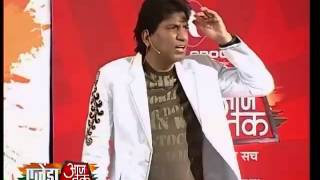 Raju Srivastava enthrals audience at Agenda Aaj Tak 2012