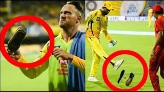 ipl thrown shoes