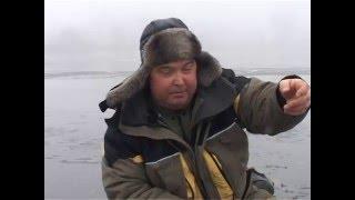 Зимняя рыбалка. Ловим белую рыбу на пруду.