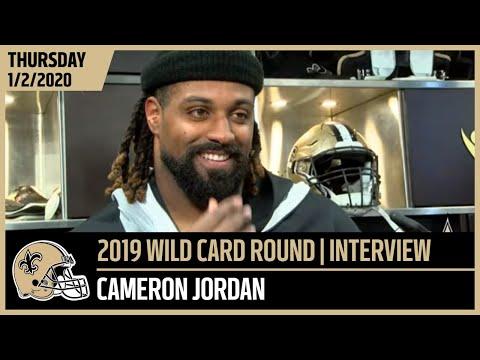Cam Jordan Focused On The Game Plan | 2019 NFL Wild Card | New Orleans Saints