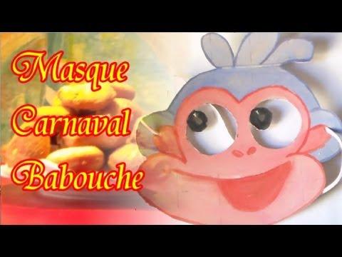 Fabriquer le masque du singe Babouche de Dora l'exploratrice soi même