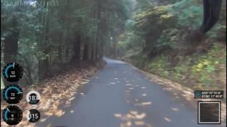 滋賀県東近江市にある、角井峠へのチャレンジです。 少し上ってすぐに激...