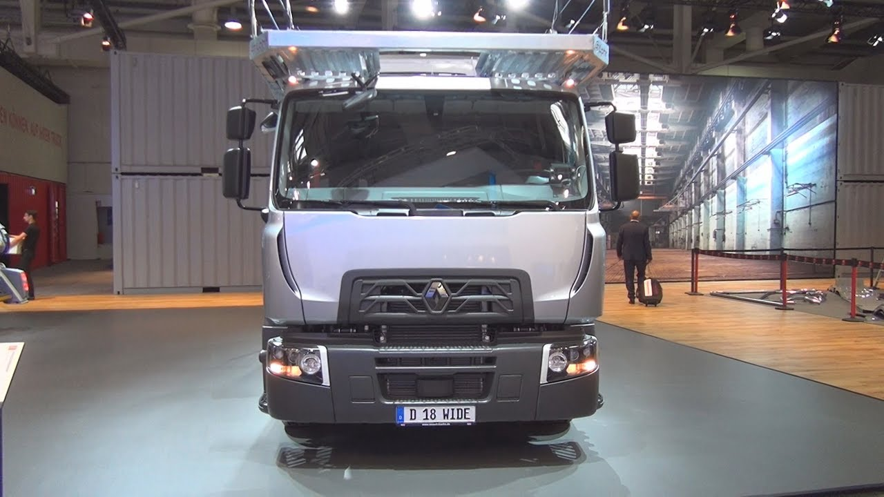 Renault Trucks D 18 Wide Car Carrier Truck (2017) Exterior and ...