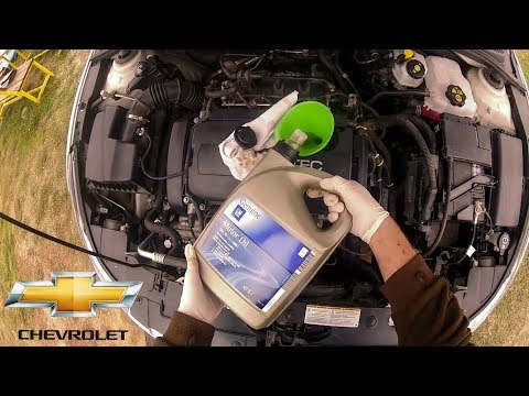 Chevrolet Cruze Oil And Filter Change