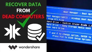 [Download] Recover Data From Dead Computers + Wondershare Giveaway
