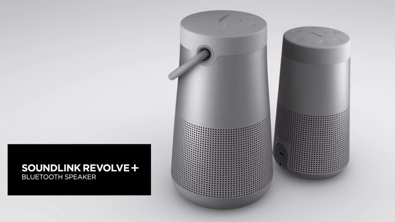 get true 360 degree sound with the bose soundlink revolve youtube. Black Bedroom Furniture Sets. Home Design Ideas