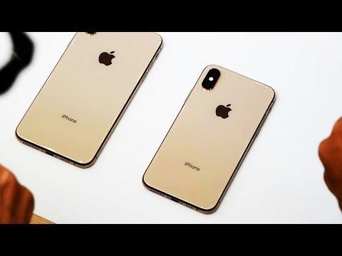 Первый обзор золотого iPhone Xs
