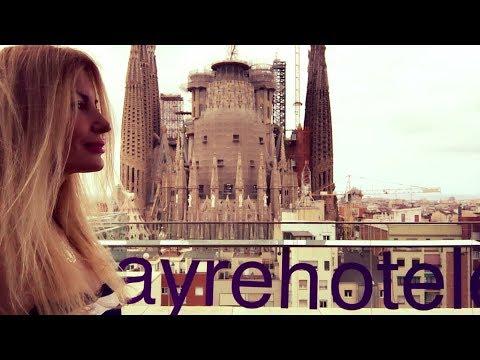 Best View of Sagrada Familia my room @ Ayre Rosellon Barcelona with Adeyto