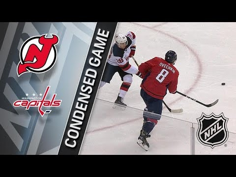 New Jersey Devils vs Washington Capitals – Dec. 30, 2017 | Game Highlights | NHL 2017/18.Обзор матча