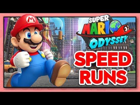 Super Mario Odyssey ANY% Speedruns | Quest for Sub 1:20:00