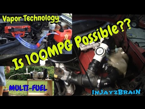 Is 100MPG + Possible?? Alternative Multi Fuel Vapor Van!
