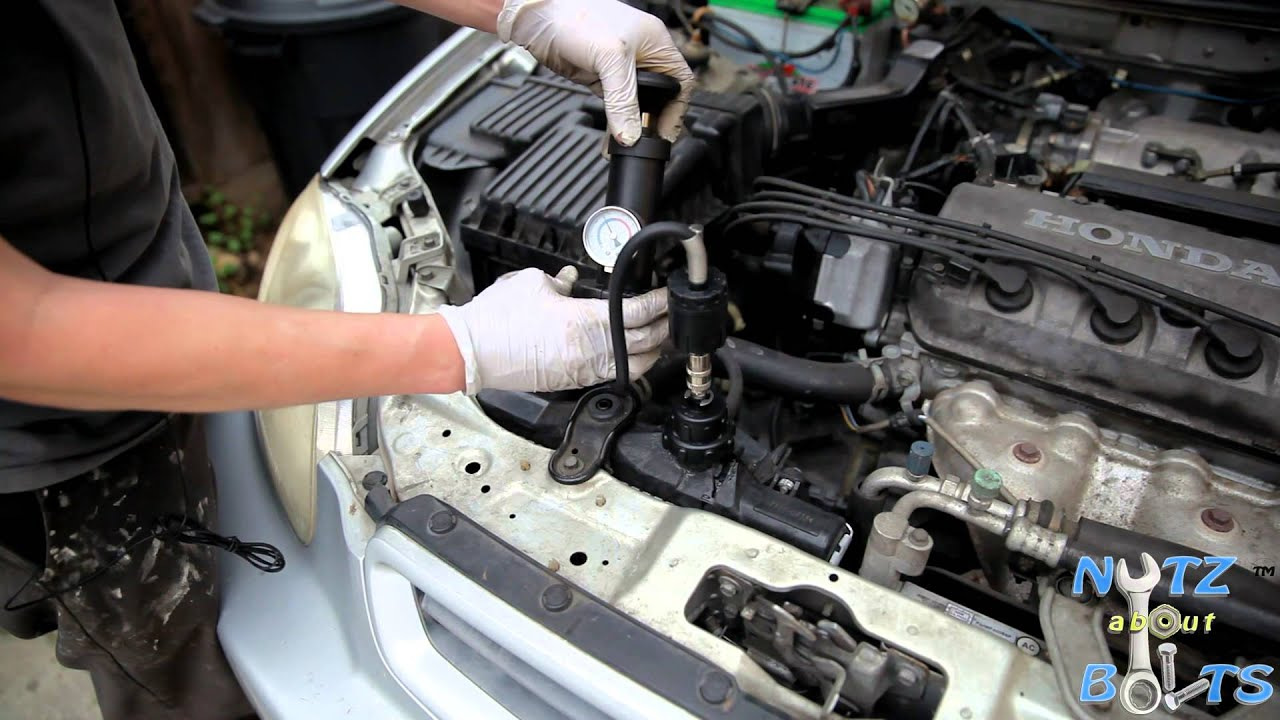 Beautiful 1996 2000 Honda Civic Radiator Pressure Testing