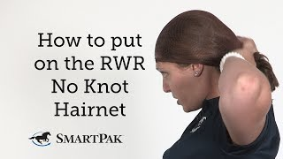 How to put on the RWR No Knot Hairnet