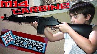 m14 carbine crossman elite with robert andre