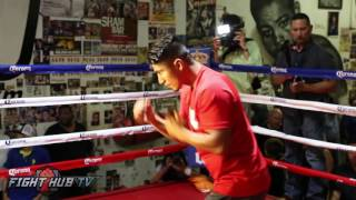 Mikey Garcia vs. Elio Rojas Full Video- COMPLETE Garcia Media Workout video
