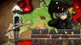 Бодаемся с гигантом! / Hearts of Iron IV Youjo Senki (Военная хроника маленькой девочки) / 5 серия
