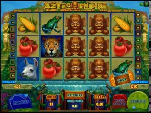 Видео Игровой автомат aztec empire