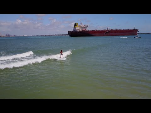 CRAZY NOVELTY TANKER WAVES  | JAMIE O'BRIEN