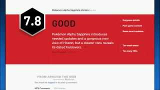 """IGN Pokemon Omega Ruby and Alpha Sapphire Review """"Too Much Water"""" #TooMuchWater"""