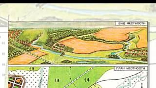 План местности, масштаб, окружающий мир, презентация для детей