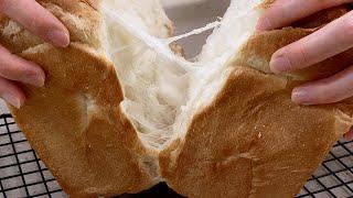 Eng] 우유 식빵 만들기⁝ 제빵기로 닭가슴결  우유 …