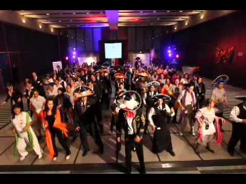 Hilton Mexico City Reforma Hotel Employees Dancing!