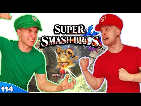 Bros Play Super Smash Bros 4 ✪ HANDICAP OF CHAMPIONS!! ● Multiplayer #114 - 동영상