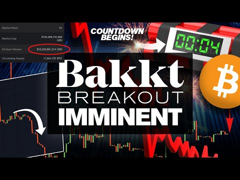 BITCOIN BAKKT BREAKOUT! Pump Or Epic Dump? Countdown Begins!