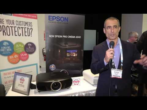 Epson 5040UB and 6040UB HDR projectors at CE Week 2016