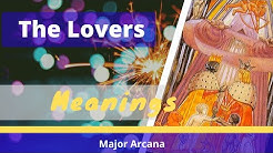 6 The Lovers (or Brothers) tarot card meanings