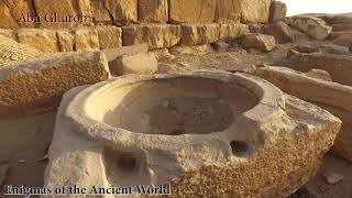 Abu Ghorab in 4K: Mysterious Bowls, Obelisk and Structures