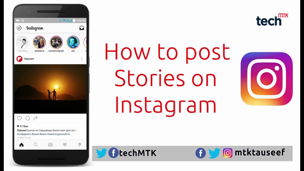 How to post stories on instagram youtube ccuart Image collections