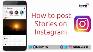 How to post Stories on Instagram