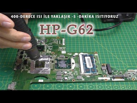 HP G62 Notebook Ekran Kartı Sorunu