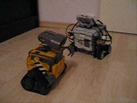 WALL-E NXT Mindstorms Lego robot - YouTube