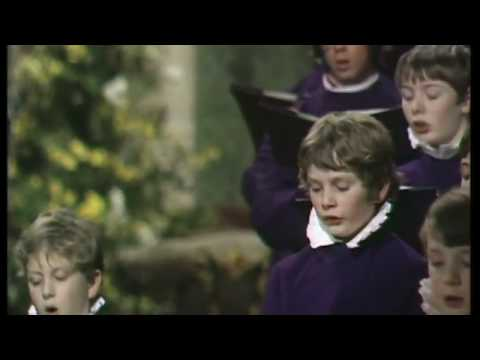 "ITV ""Halleujah - a Programme of Sacred Music"": Canterbury Cathedral 1973 (Allan Wicks)"