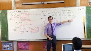 Proving the Cartesian Equation of a Parabola's Tangent
