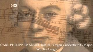 CARL PHILIPP EMANUEL BACH - Organ Concerto in G Major, Wq 34