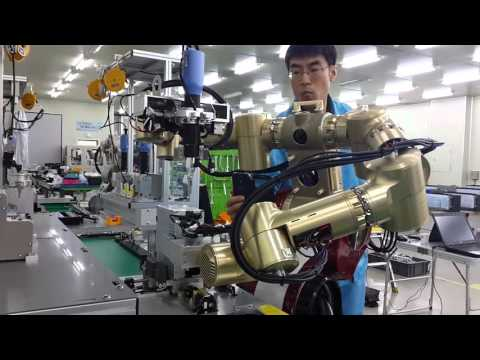 Robostar intelligent dual arm robot