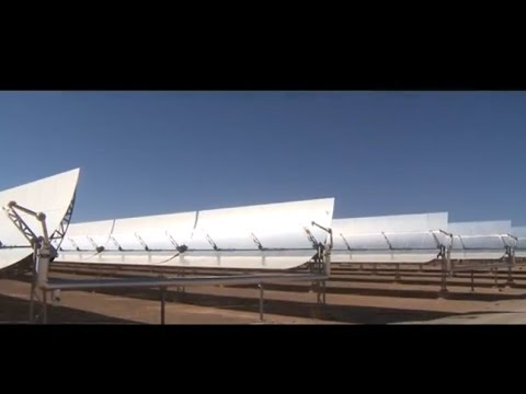 Noor, the largest concentrated solar power complex in the wo