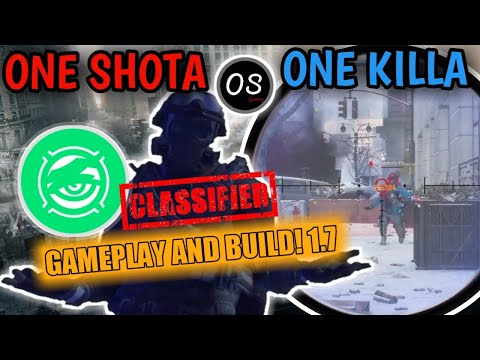 The Division 1.7 One Shot Deadeye Build And Gameplay (PVP AND PVE)