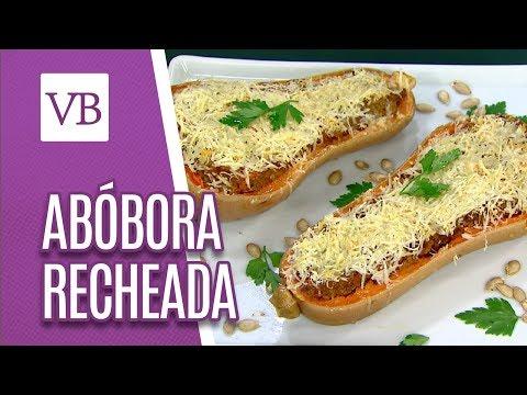 Abóbora Recheada - Você Bonita (21/05/18)