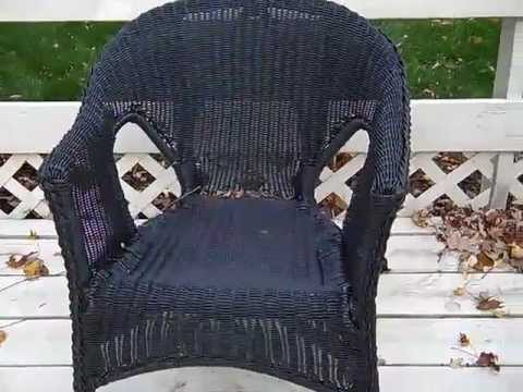 Broken resin wicker chair.mp -