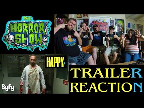 """Happy!"" 2017 Comic Book TV Series Trailer Reaction - The Horror Show"