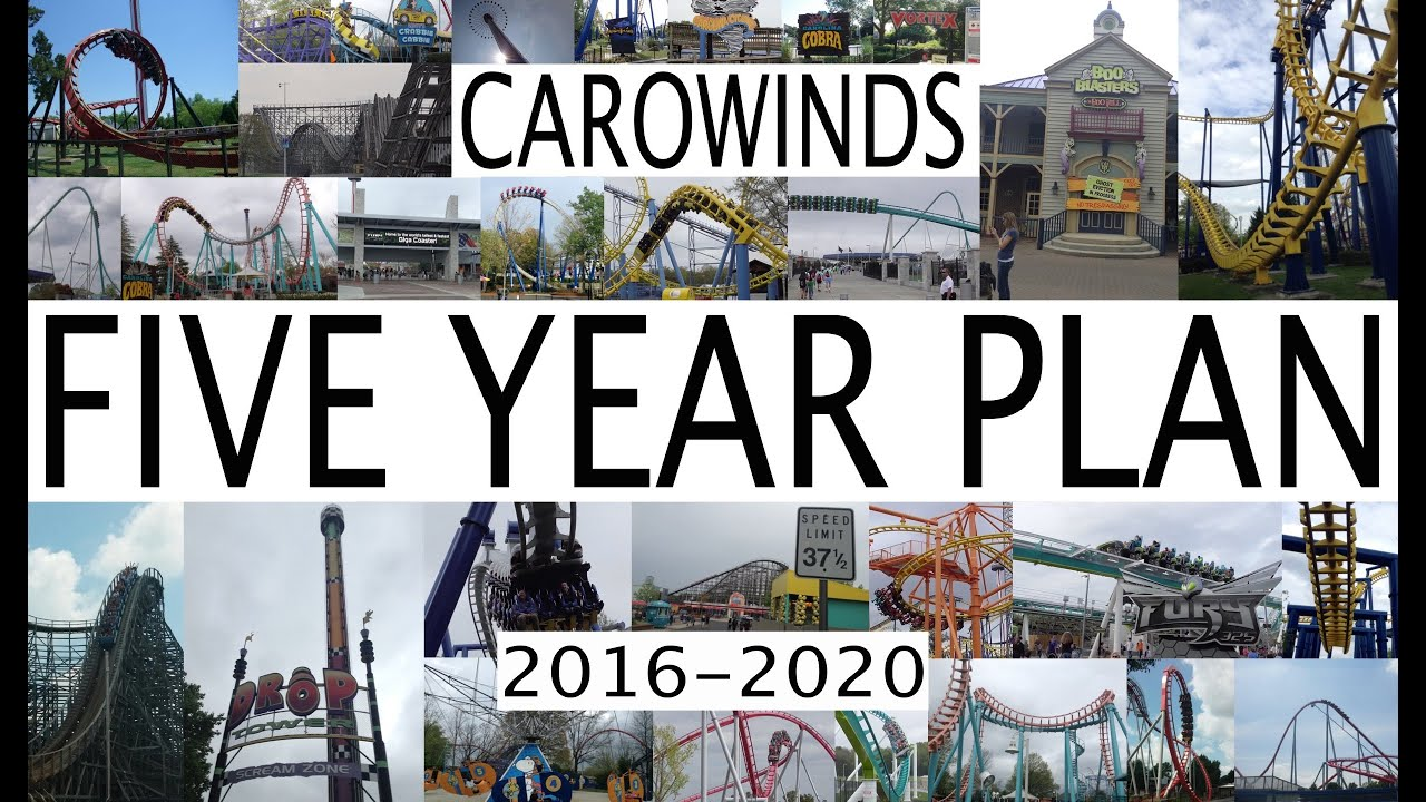 Carowinds 5 Year Plan 2016 - 2020 Future Attractions